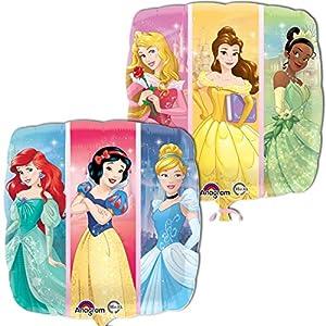 Amscan International 3380601 Disney Princess Dream Big, Globo de Papel de Aluminio estándar