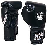 Cleto Reyes Hook and Loop Boxhandschuhe mit Klettverschluss, Farbe:schwarz, Gewicht:16 oz