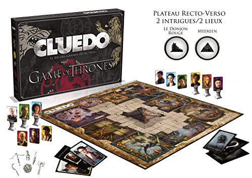Winning Moves - 0949 - Cluedo - Game of Thrones  - Version Française