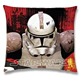 Global Labels G 104 950 SW4 100 Star Wars Revenge Kissen, Polyester 40 x 40 cm