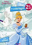 Disney Princesses - Bloc de coloriages avec stickers