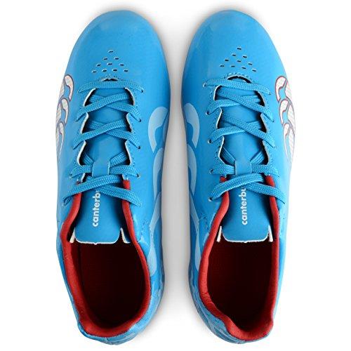 Canterbury Speed Club 6 Stud, Chaussures de Rugby Garçon Bleu (a60)