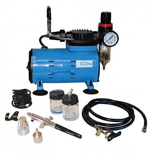 GÜDE Kompressor Airbrushkompressor Set ölfrei 50068
