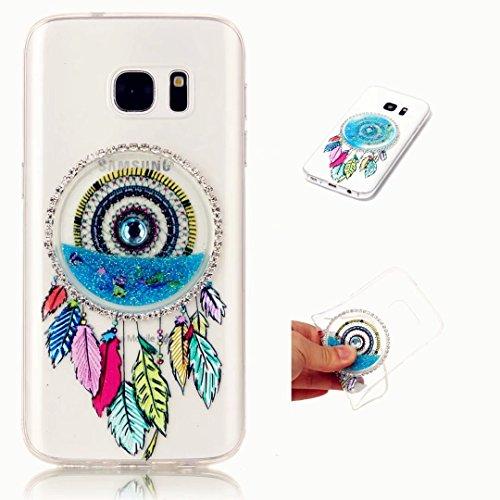 kshop-funda-tpu-silicona-para-iphone-5c-gel-suave-slim-transparente-anillo-de-cristal-pteris-sabbie-