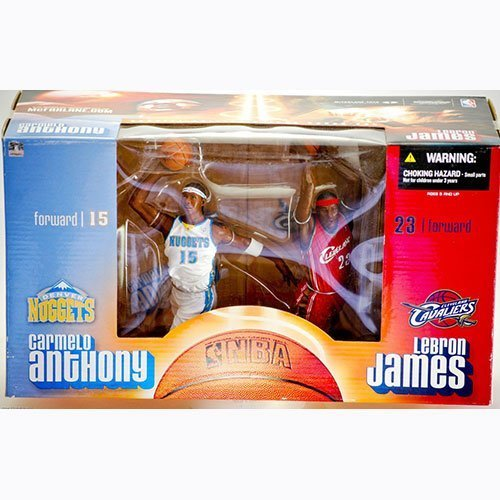McFarlane NBA 2-PACK LEBRON JAMES & CARMELO ANTHONY