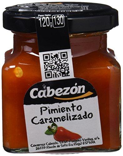 Conservas Cabezn Frasco de Pimiento Caramelizado - 118 gr - [Pack de 12]