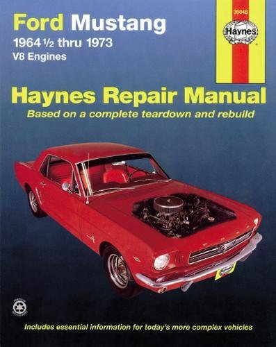 Ford Mustang V8 (July 64 - 73) (USA service & repair manuals) por Bruce Gilmour