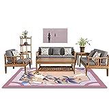 BHXUD Teppich Traditionelle Art Teppich Home Wohnzimmer Schlafzimmerteppich Elegant Chinesische Teppich Vielfalt Stil,3