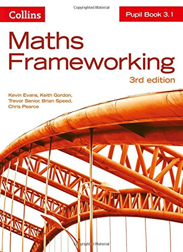 KS3 Maths Pupil Book 3.1 (Maths Frameworking)