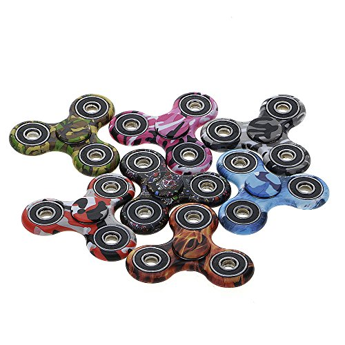 Huayang| Cool Painting Tri Hand Spinners Fidget