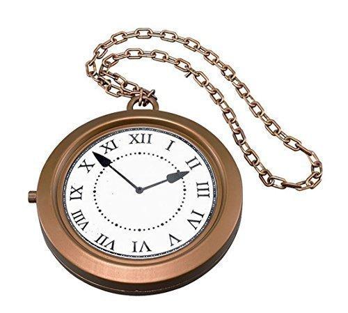 Horloge Médaillon Alice Au Pays Des Merveilles Lapin Blanc Jumbo Montre À Gousset Collier