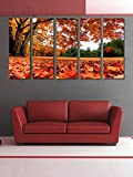 #2: 999Store Framed Ready to Hang Multiple Frames Printed Ship in The Sea Art Panels Like Painting - 5 Frames