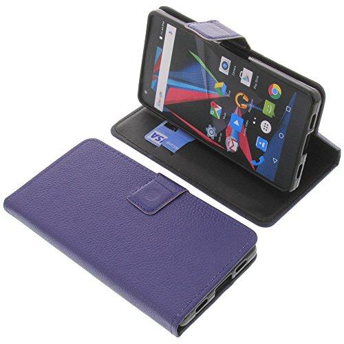 foto-kontor Tasche für Archos Diamond 2 Plus Book Style blau Schutz Hülle Buch