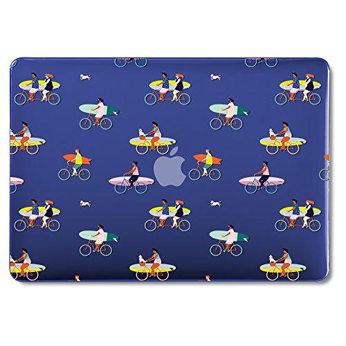 GMYLE Hülle Schalen für MacBook Air 13 A1369 A1466 2008-2017 Ausgabe NO Touch-ID, Ultra Slim Hochwertige Hartschale Gehäuse Tasche Schutzhülle Snap Apple Air 13