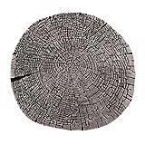 Teppiche Teppich-Wurzel-Form-Teppich-Computer-Innenpolsterungs-Bodenbelag-Wohnzimmer-Wolldecke-kreativer Tee-Tabellen-Matten-Geschäft-rutschfester Teppich ( Color : Gray , Size : Diameter 140CM )