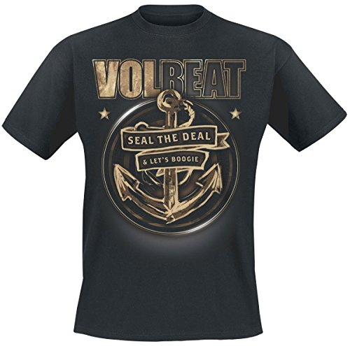 Volbeat Anchor T-Shirt nero 5XL