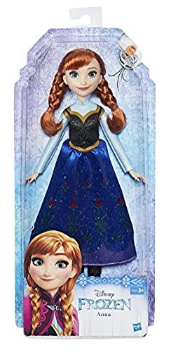 Disney Frozen Muñeca, Color Verde (Hasbro Spain B5163ES2)