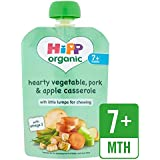 HiPP Organic Hearty Vegetable, Pork & Apple Casserole Pouch 7 + Mths 130g