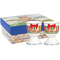 Humpty Dumpty Set of 2 Egg Cups in Fine China (Pack of 4)