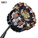 heDIANz Réacteur à Arc Bricolage modèle kit Jouet LED Coffre USB lumière Film...