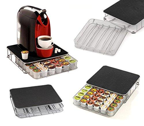 41343 cassetto porta capsule caffè in metallo dispenser da 30 a 60 posti. media wave store