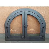Porte de porte four à pizza Bois Four Pierre Four Fonte Grill 595x 480