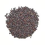 BIO Senf, braun (schwarz), ganz (Sinapis nigra / Brassica nigra), Samen, ganz, kbA, 100g