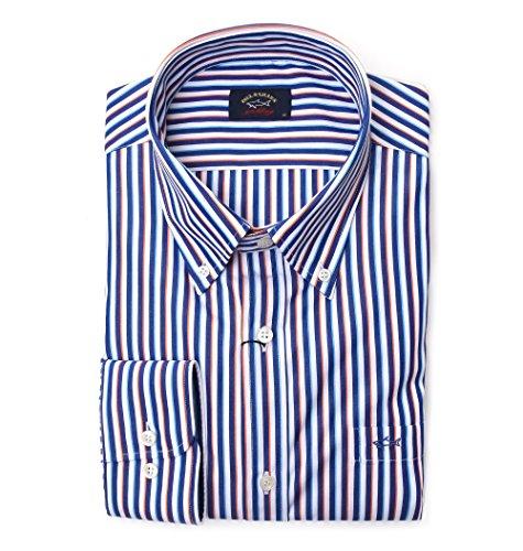 Paul & shark camicia uomo p18p32940173 cotone multicolor