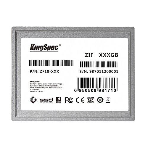128 GB KingSpec 1,8 ZIF 40 pines estado sólido SSD
