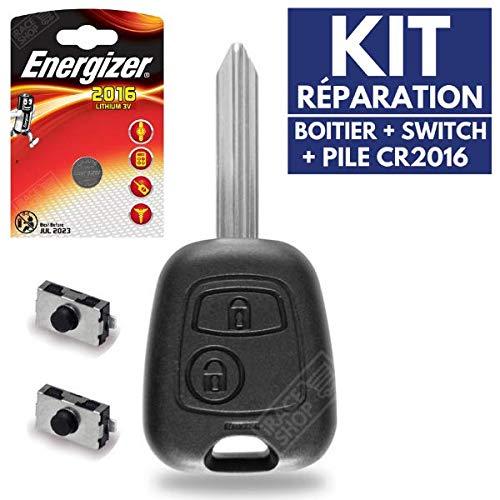 Carcasa Jongo caja mando distancia llave Citroen C1C2C3Picasso