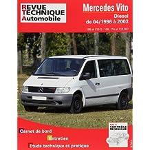 Revue technique automobile  N°  421.1 Mercedes Vito (04/96 à 2003)
