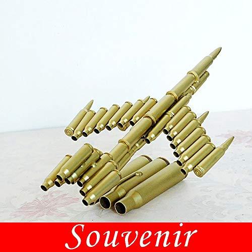 Guoyq metallo placcatura in ferro battuto, shell modello di velivoli artigianato forza combattente commemorativo, fatto a mano creativa ufficio bar decorazione della casa regali