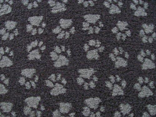 Tapis vétérinaire PnH Veterinary Bedding® antidérapant - 100cm x 100cm - Paws charbon