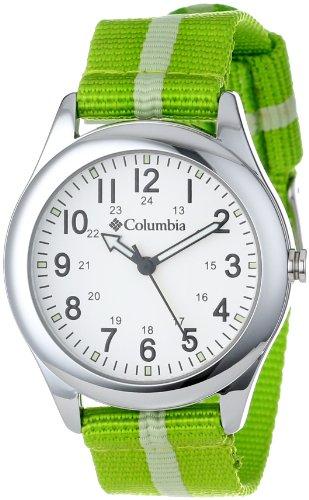 Columbia Unisex CA016340 Field Fox Green Canvas Watch