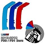 M-colore dipinto Grill banda inserti per 3er F30 F31 Griglie rene (8 raggi)