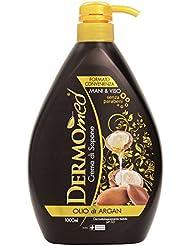 Dermomed Crema di Sapone Olio di Argan - 1 Litro