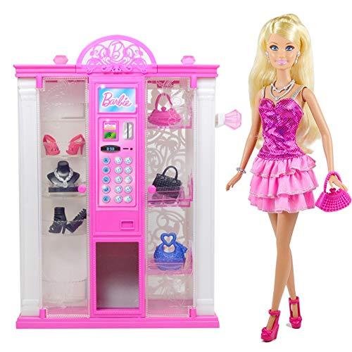 Chelsea-zubehör-set (Ayy Niedliche Puppe Traum Haus Automaten Set Geschenkbox Spiel Puppenkleidung Geburtstagsgeschenk)