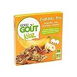 Good Goût Kidz Barres Amandes/Noix de Pécan/Bananes Dès 3 Ans Bio 3 x 20 g - Pack de 15