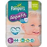 Pampers Active Fit Taille 5(11–25kg) économie x 44par paquet