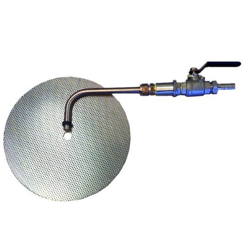 HomeBrewStuff Stainless Steel Sanke Keg - Keggle Conversion Kit with Flat False Bottom, Valve and Weldless Bulkhead by Home Brew Stuff
