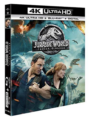 Jurassic World : Fallen Kingdom [4K Ultra HD + Blu-ray + Digital]