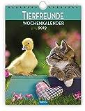 Wochenkalender 'Tierfreunde' 2019 als Wandkalender Wochenplaner