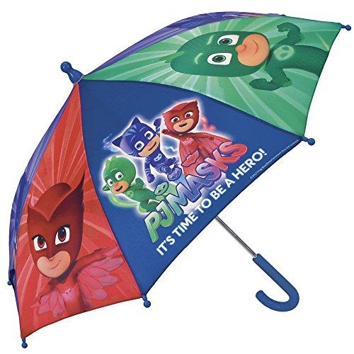 PJ Masks Héroes en Pijamas Paraguas para niño y niña Perletti –...