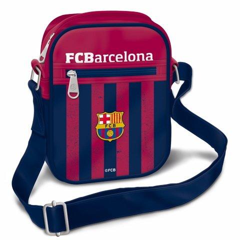 Preisvergleich Produktbild *Exclusiv* FC Barcelona Schultertasche Umhängetasche EDEL