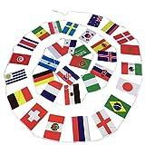 Mondiali Di Calcio 2018 Calcio Bandiera Nazionale Bandiera Decorazione Bandierine Internazionali Decorative Varie Bandiere Nazionali Tifosi Di Calcio Rugby Presentazione Eventi 32 National Flags Giardino Bar Plaza Party Decoretions