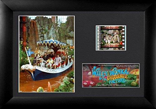 Film Cell Echter 35mm gerahmt & mattiert Willy Wonka und The Chocolate Factory chocolate River Boot Tour usfc6333(S3) (Beste 35mm-film)