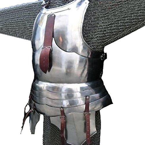 Brust- und Rückenplatte der Milanese Rüstung / Brustschützer / Mittelalterliche Ritter Rüstung Kostüm / Reenactment Historische Rüstung (Kostüm Rüstung Mittelalterliche)