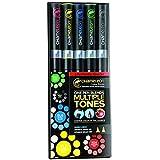Chameleon Primary Tones Set Of 5 Pens by Chameleon