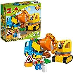 LEGO Duplo - Duplo Camion e Scavatrice Cingolata, 10812