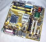Asus P5LD2VM/S Main Board Bundel con CPU Core 2Duo 63001.86GHz Dual Core